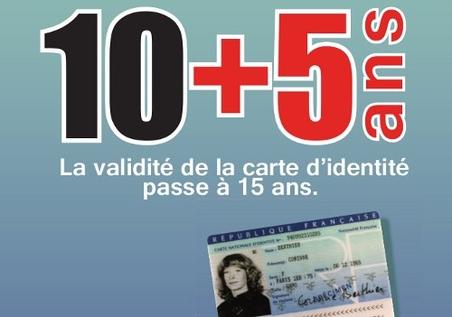 carte d identité valable 5 ans de plus Durée de validité de la Carte d'identité   Frankreich in Deutschland